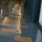 Floor restoration for South Devon College